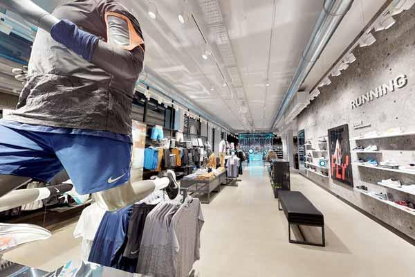 Matterport retailbranchen virtuelle showroom